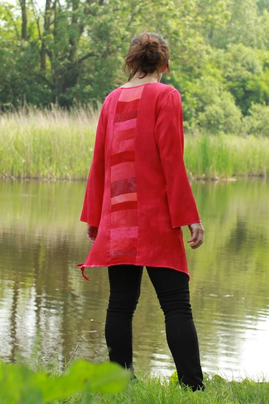 blouse rood 2