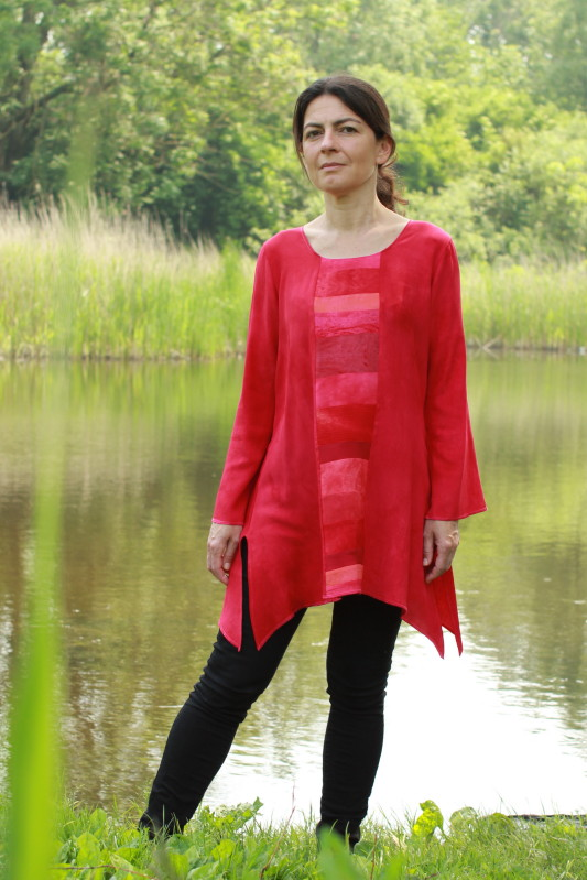 blouse rood 1